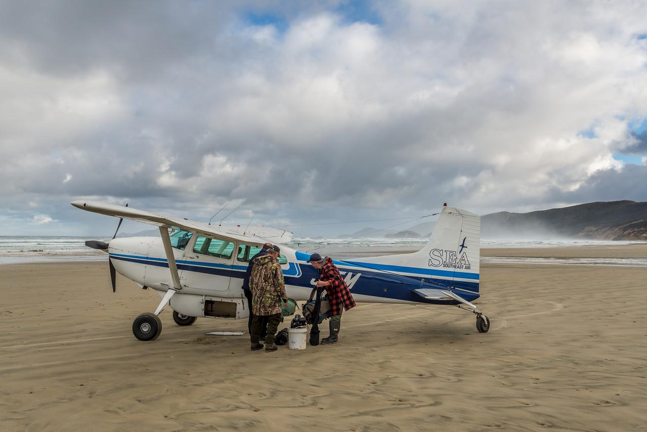 Getting ready for take-off, Mason Bay