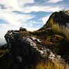 An outcrop of summer rock.