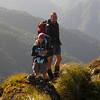 Looking pleased to be across the Peaks