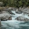 Lovely rapids in the Kokatahi River