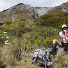 James below Taruahuna Pass.