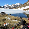 Lunch at Tarn Col.