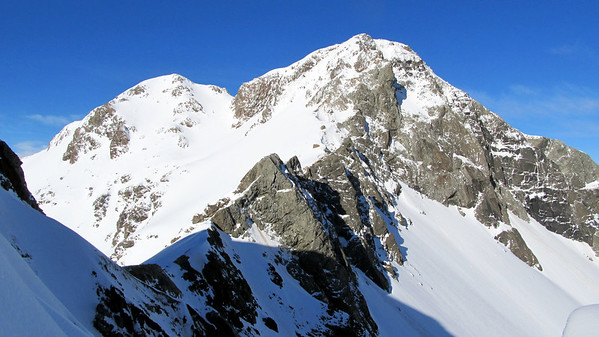 Falling Mountain and Mt Valiant, 09-11 August 2013