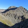 Climbing to Pt. 1828m, Falling Mountain behind.