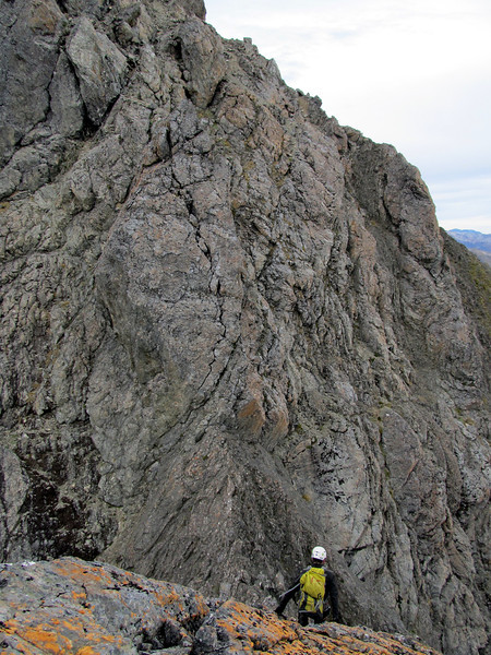 Summit ridge of  Mt Russel.