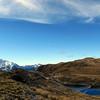 Tarn and Mt Alexander.