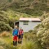 Dave and I at Koropuku Hut.