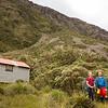 Yvonne and Dave at Koropuku Hut.