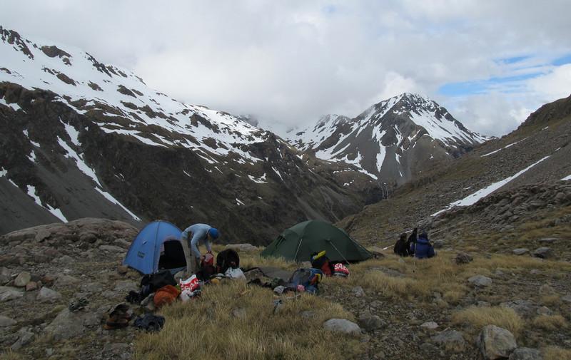 Camp site at Lake Florence.