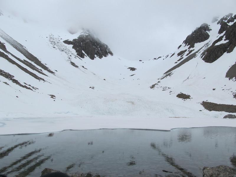 A thawing Lake Florence.