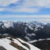 Mt Franklin above Mt Temple -Mt Aicken Range.