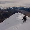 Nearing the low peak of Mt Binser.