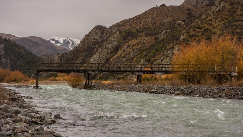 Avoca Homestead's old stock bridge.