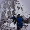 """Along the Polar Range just NE of Bowers. This is where Claire and I turned around while the """"keen bean"""" CMC crew carried on to do the full traverse toward Mt Wilson."""