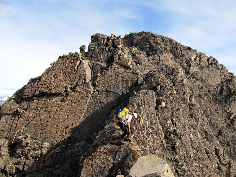 South Ridge of Mt Oates.