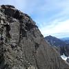 Me on the South Ridge of Mt Oates (photo James Thornton).