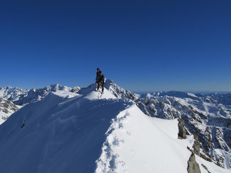 On the summit of Mt Philistine.
