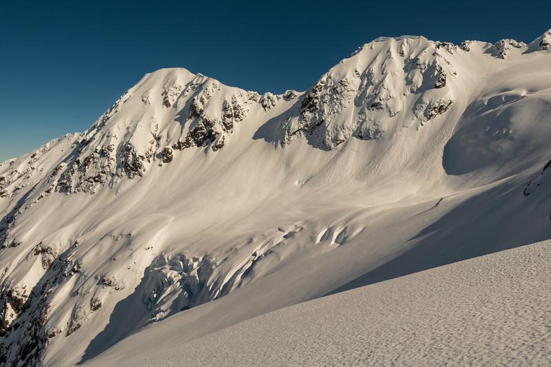 Cronin Glacier and Mt Marianne.