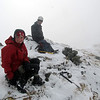 Me and Andrew on the summit.