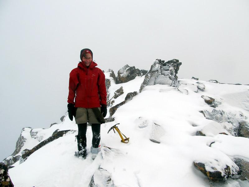 Me on the north ridge of Tarapuhi.