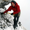 Me on the north ridge of Tarapuhi.