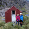 The team at Waimakiriri Falls Hut.