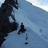 On the West Ridge of Mt Ionia (photo - James Thornton).