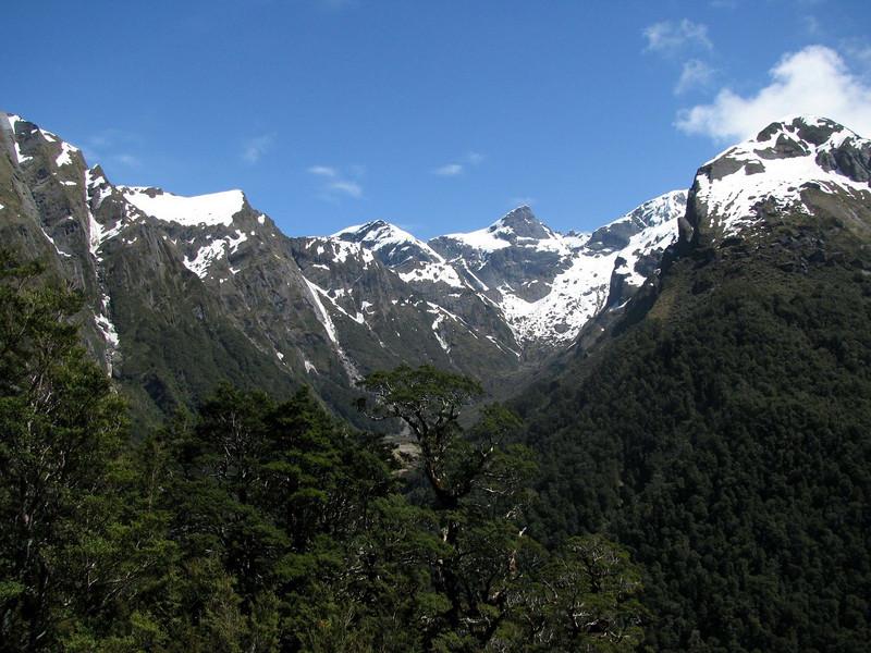 Eyetooth above Maori Saddle.
