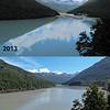 Dredge Flat lake timeline (photos: 2010 - Jaz Morris, 2013 - James Thornton, 2014 - Guenter Dickerhof).