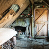 Inside Lochnagar Hut after a good pit day tidy up.