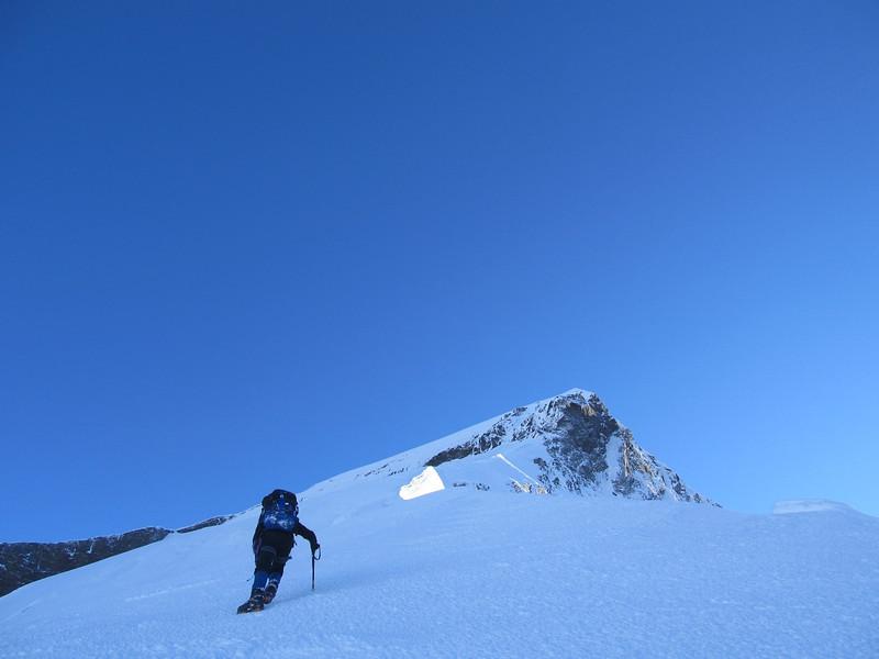 On the SW ridge.