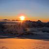 Sunset on the Bonar.
