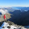 On the summit of Earnslaw.