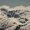 Margaret Glacier with Albert Peak and Barrier Range.