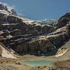 Max below the Grant Glacier.