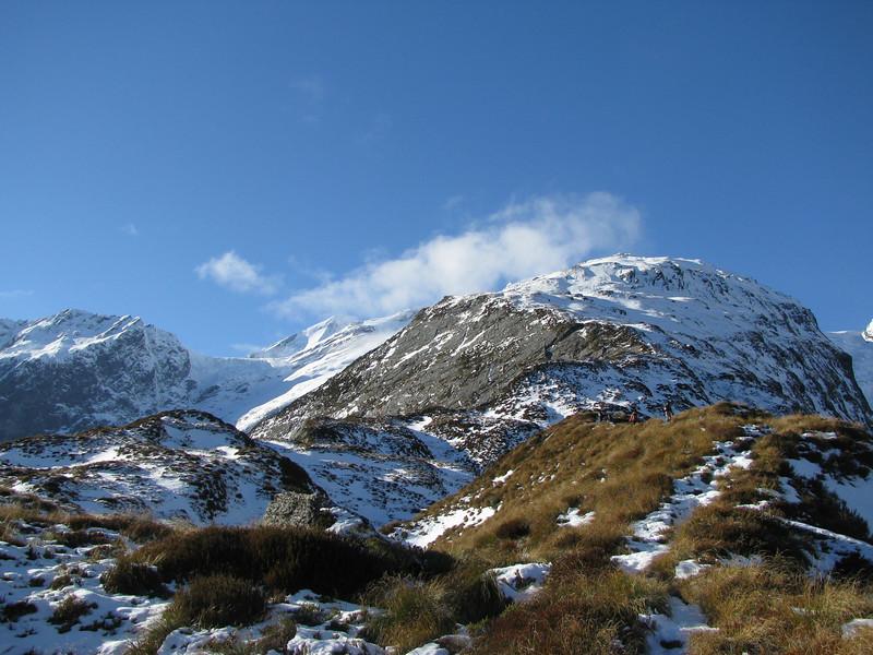 French Ridge. Breakaway on the left, Flightdeck on the far right.