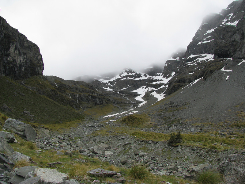 Head of Glacier Burn.
