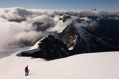 Souter Peak, 30 November  - 3 December 2016