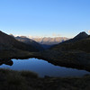 Tarn near Gillespie Pass.