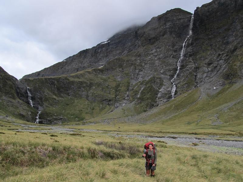 Approaching Waterfall Face.