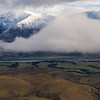 Hutt Range above the Rakaia. The Dry Acheron River - our way home - is at the bottom right.