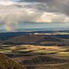 Rainshower over the plains.