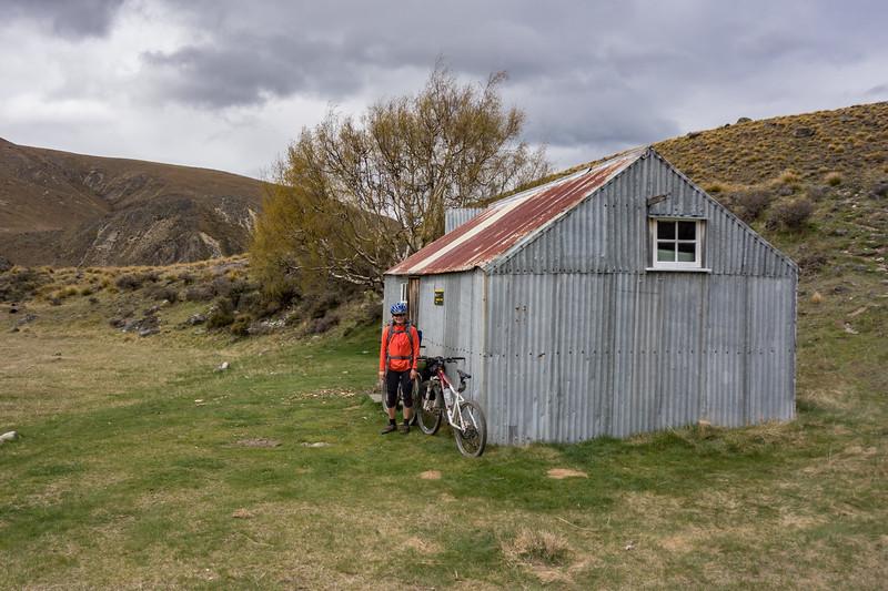 Boundary Creek Hut.