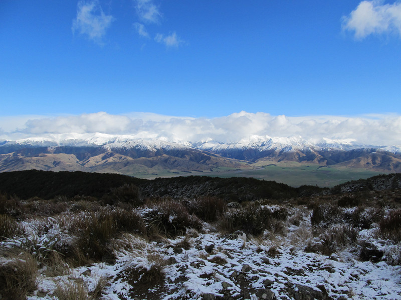 View across Lees Valley from Mt Richardson.