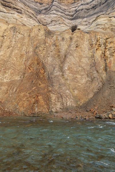 Broken River gorge.