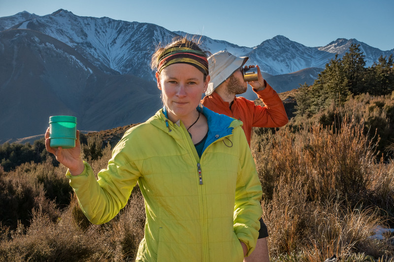 Life in the hills is good with tea (photo - Jaz Morris).