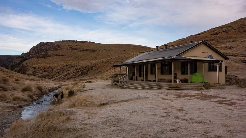 Woolshed Creek Hut.