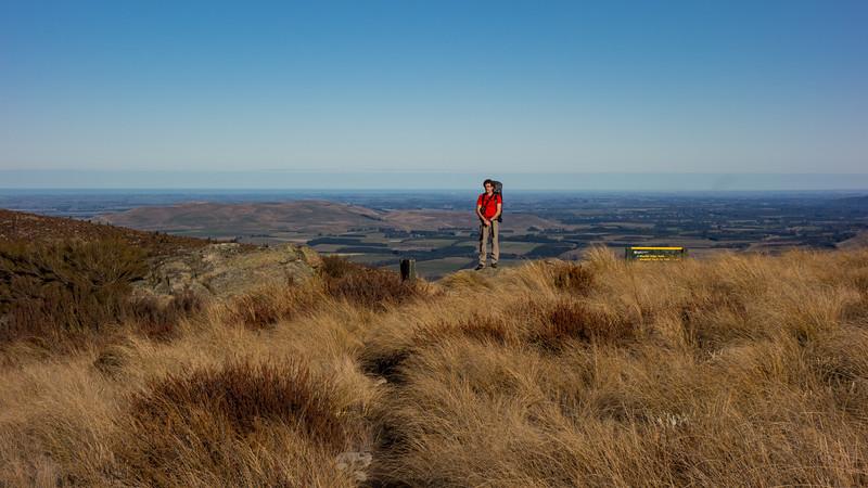 Jaz and the Canterbury plains.