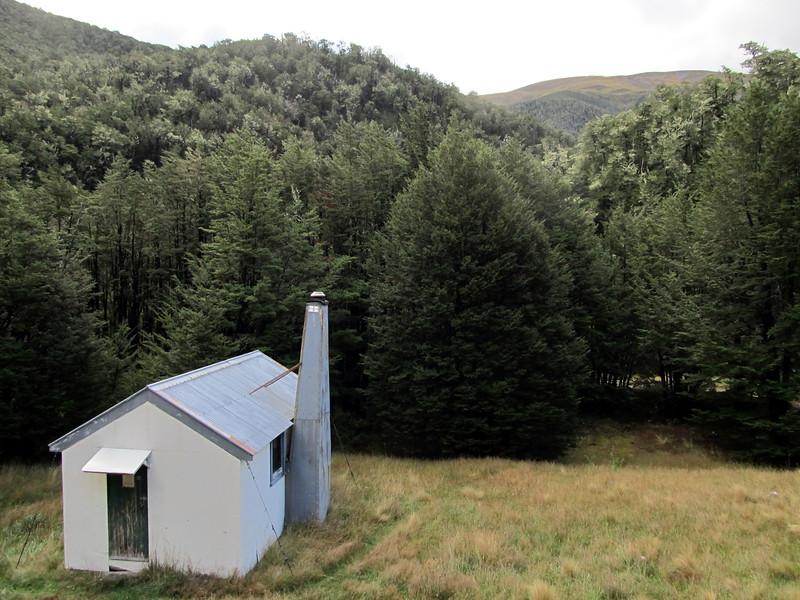 Youngman Stream Hut.