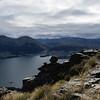 Lake Wakatipu and Queenstown.